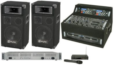 DJ system 250 by 250 watt out put Amplifier  sc 1 st  Kays Electronics & Disco Packages azcodes.com